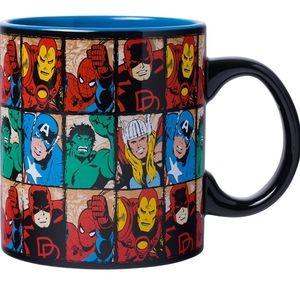 🦸♂️ MARVEL AVENGERS COFFEE MUG CUP thor spider-